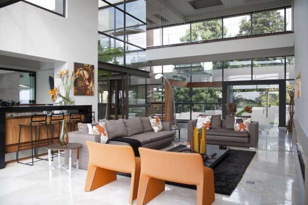 House in Bryanston 11 Incredible Residence with Unequalled Architectural Details
