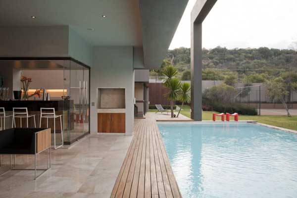 House in Bryanston 16 Incredible Residence with Unequalled Architectural Details