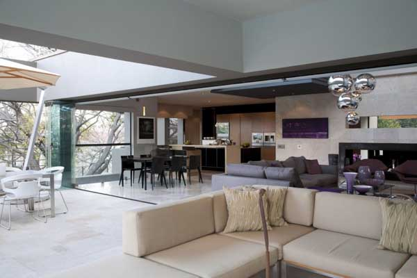 House in Bryanston 17 Incredible Residence with Unequalled Architectural Details