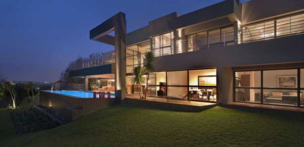 House in Bryanston 2 Incredible Residence with Unequalled Architectural Details