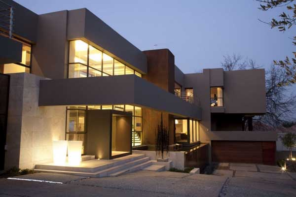 House in Bryanston 4 Incredible Residence with Unequalled Architectural Details