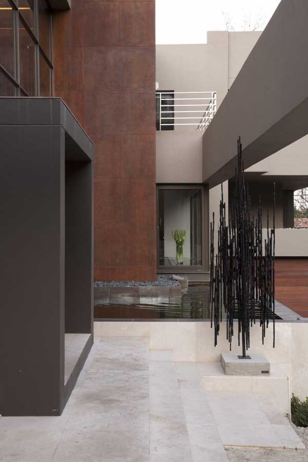 House in Bryanston 6 Incredible Residence with Unequalled Architectural Details