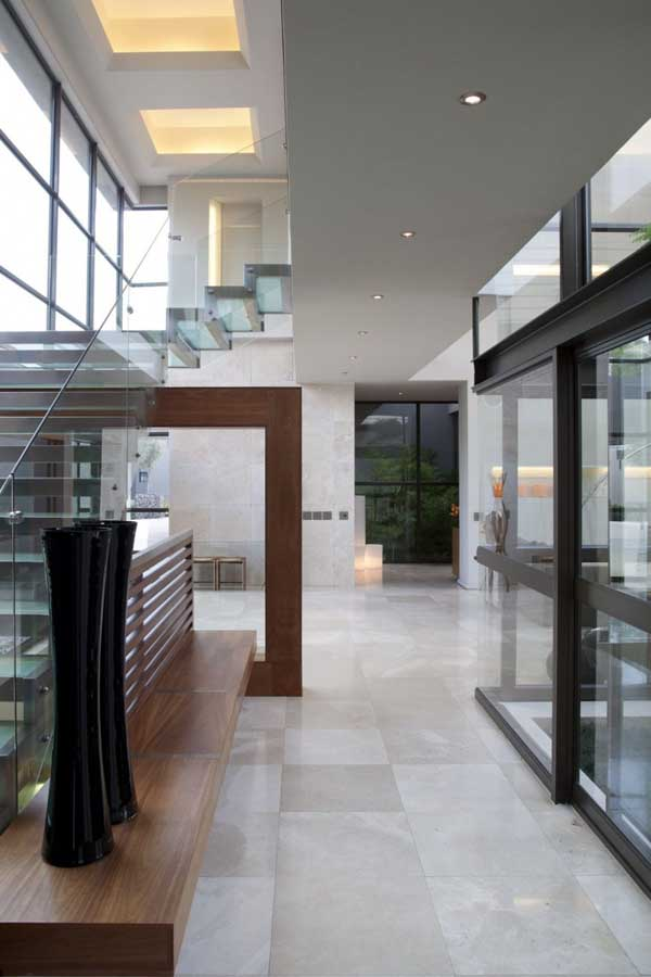 House in Bryanston 8 Incredible Residence with Unequalled Architectural Details