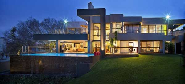 House in Bryanston Incredible Residence with Unequalled Architectural Details