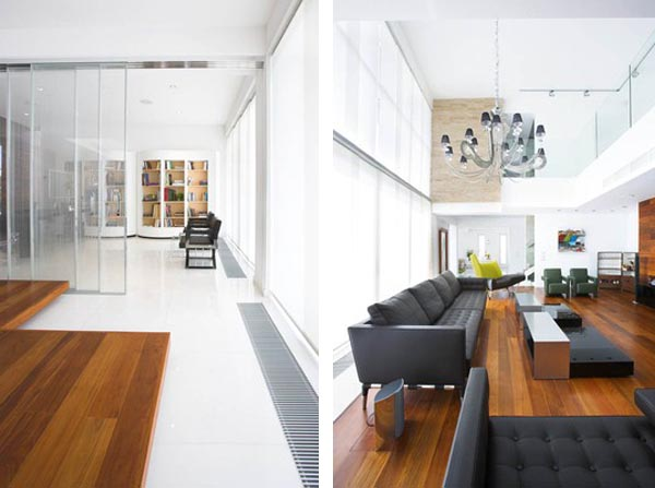 Adamos Residence 6 Airy Residence in Cyprus Combining Wood and Glass on a White Background