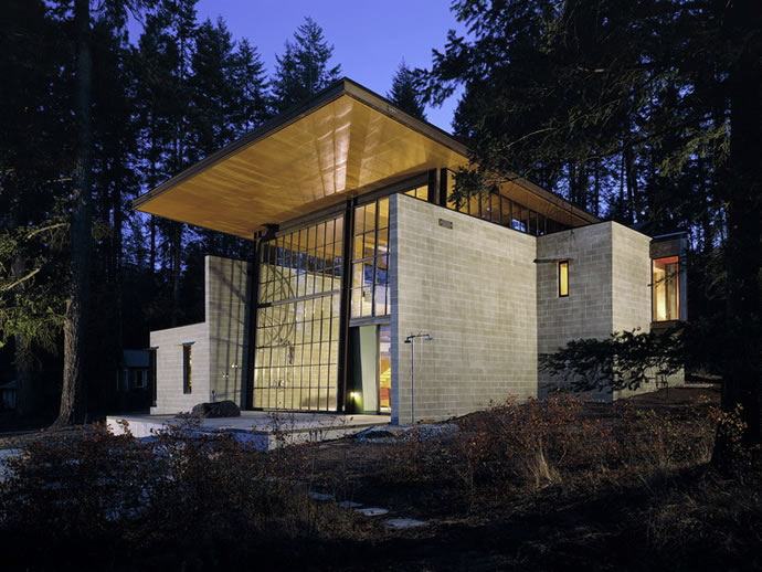 Beautiful Houses: Chicken Point Cabin in Idaho