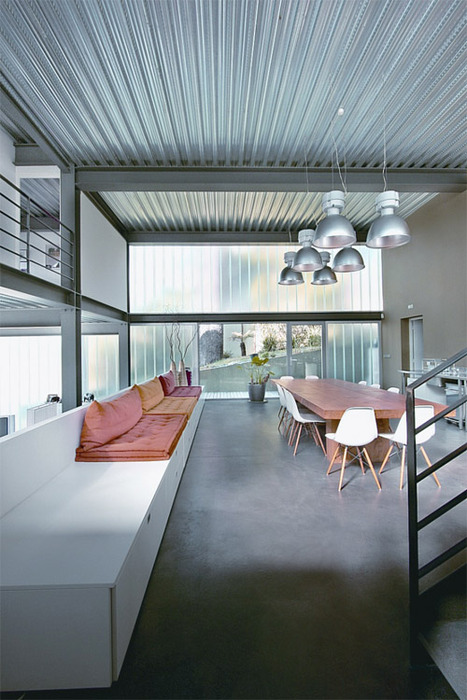 House Loft In Saint Cloud By The Architect Olivier
