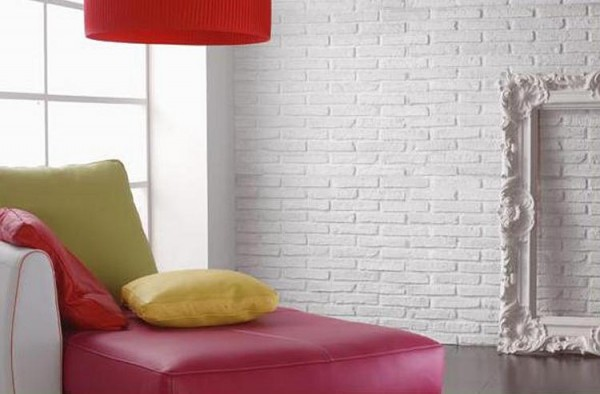brick painted e1293746877730 How to Change the Look of your Interiors with Brick