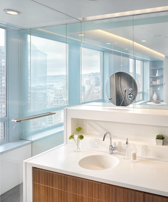 Modern Bathroom Apartment Market Street Penthouse Market Street Ten