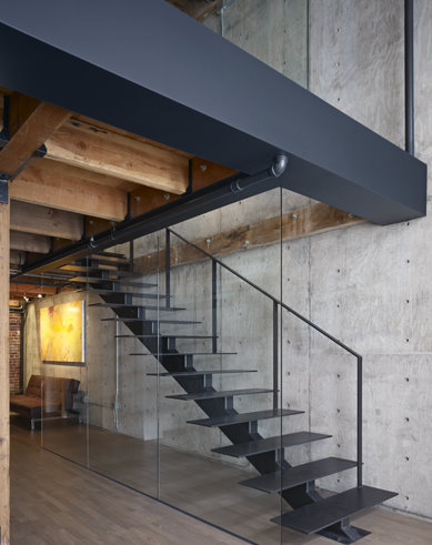 amazing industrial modern loft in san francisco / loftenberg