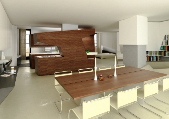 modern kitchen 11 660x465 Hamburg Ultra modern