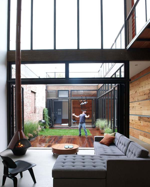 Bachelor Pad by Mesh Architectures 8 Steve Burns Stunning New York Residence by Mesh Architectures