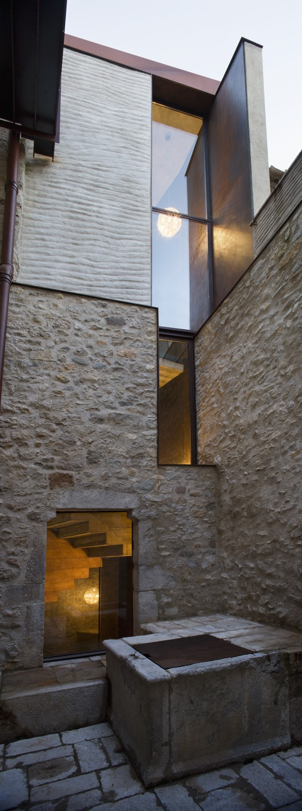 Original water tank Breathtaking Medieval Building Turned Into Contemporary Living Space