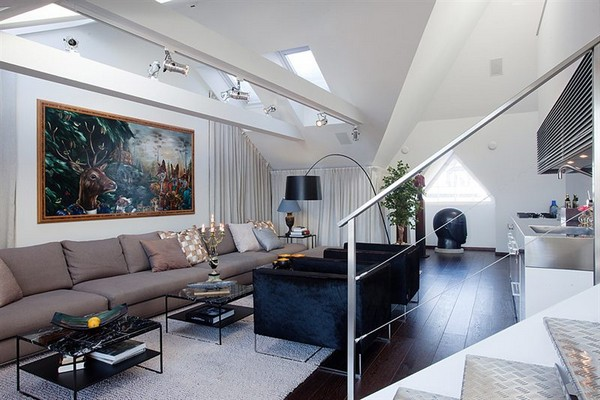image 0132 Contemporary Apartment with an Original Design Approach in Stockholm