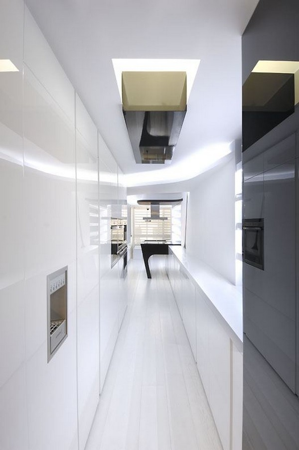 Intriguing Sci-Fi Apartment Design by A-cero