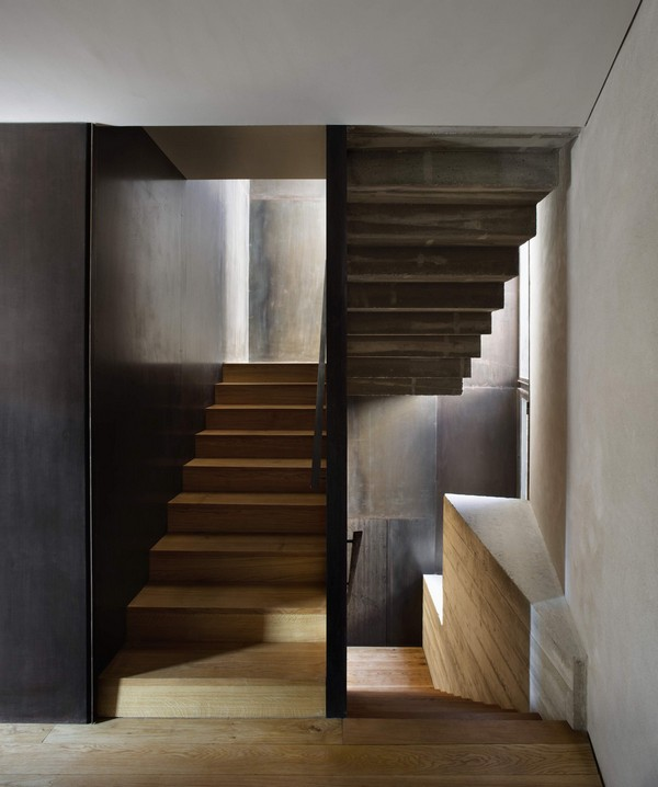 Interior stairs detail Breathtaking Medieval Building Turned Into Contemporary Living Space