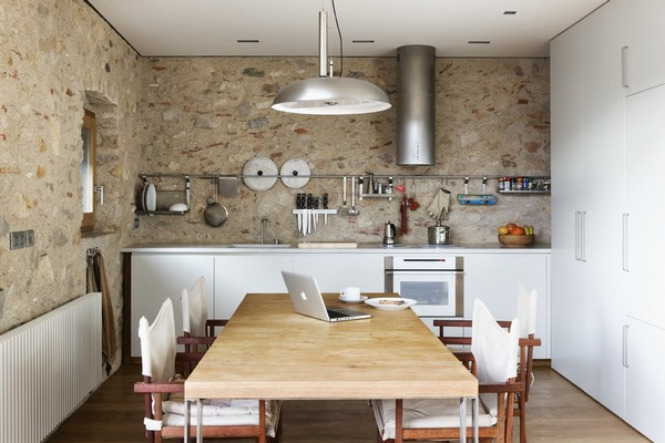 Kitchen Breathtaking Medieval Building Turned Into Contemporary Living Space
