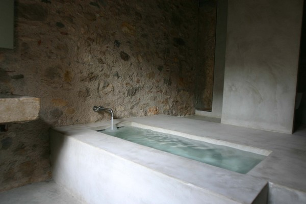 Main suite bathroom Breathtaking Medieval Building Turned Into Contemporary Living Space