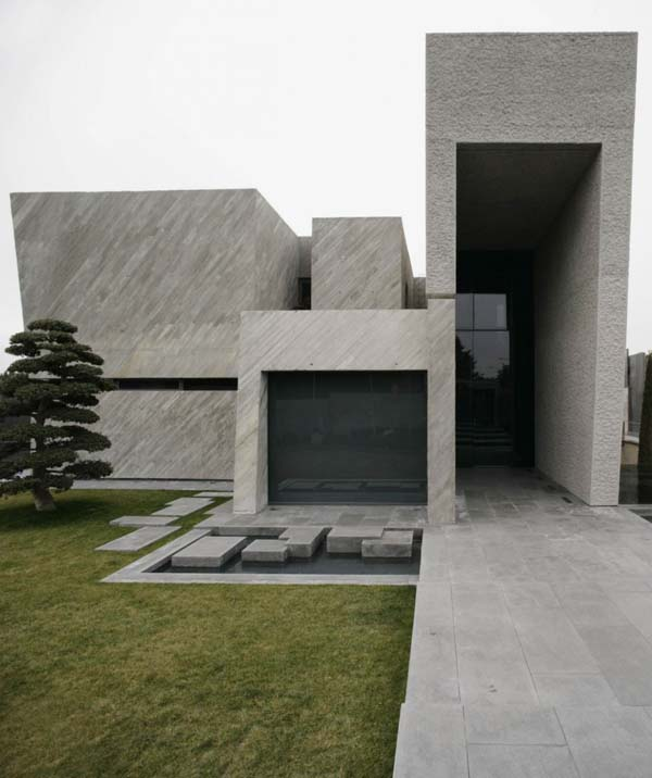 Open Box House by A cero 7 Inspired by Works of a Spanish Sculptor: A ceros Open Box House