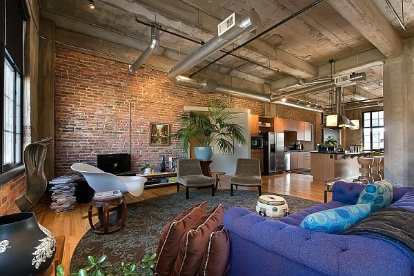Former Flour Mill loft unit in Denver