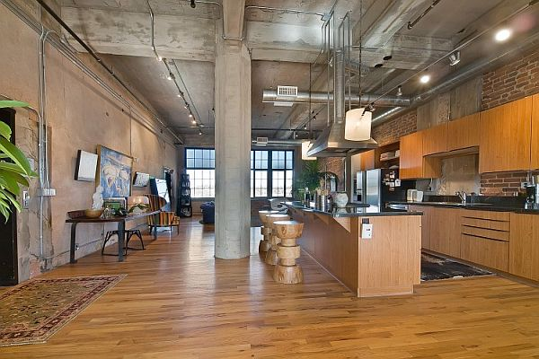 Stunning Loft in a Former Flour Mill in Denver