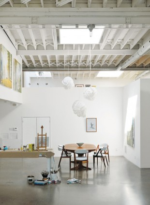 "Live Work Loft Design: ""Gallery"" Space for Toronto Artist"