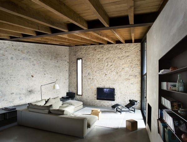 Main living room Breathtaking Medieval Building Turned Into Contemporary Living Space