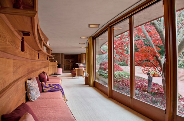 Frank Lloyd Wright 3 Frank Lloyd Wrights Kenneth Laurent House in Illinois Up For Auction