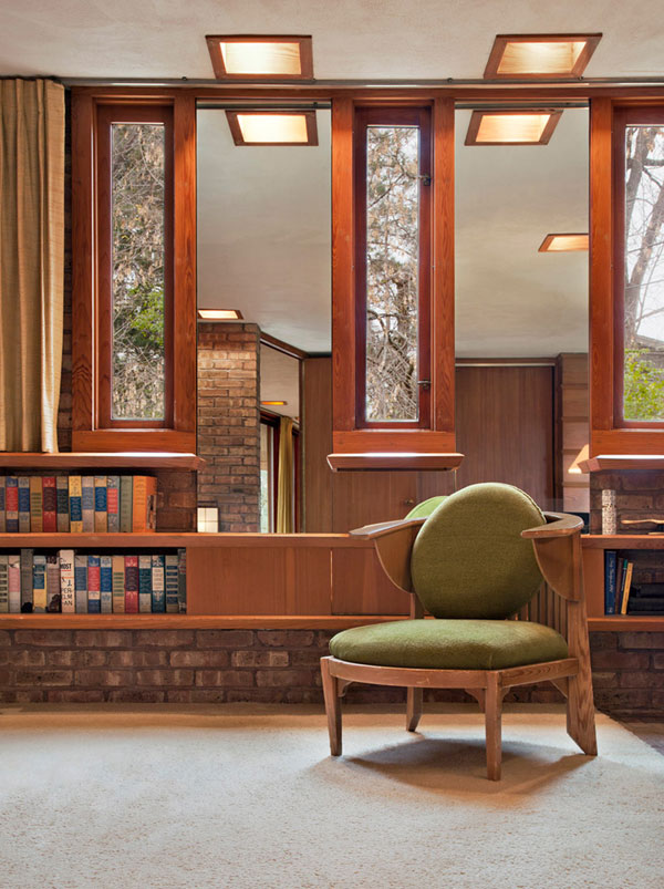 Frank Lloyd Wright 4 Frank Lloyd Wrights Kenneth Laurent House in Illinois Up For Auction