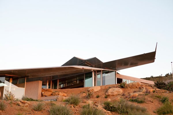 studioea 747 wing house process 083 Using Airplane Parts To Create Sustainable Architecture: Wing House [Video]
