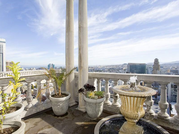 San Francisco Penthouse 14  Striking Art Deco Penthouse With Views of Downtown San Francisco