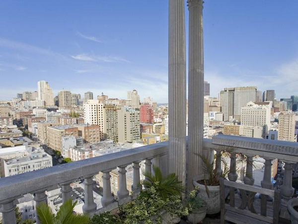 San Francisco Penthouse 15  Striking Art Deco Penthouse With Views of Downtown San Francisco