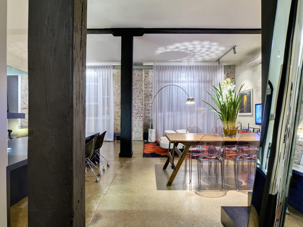 Brisbane House 1 Wool Store Converted Into a Generous Contemporary Loft