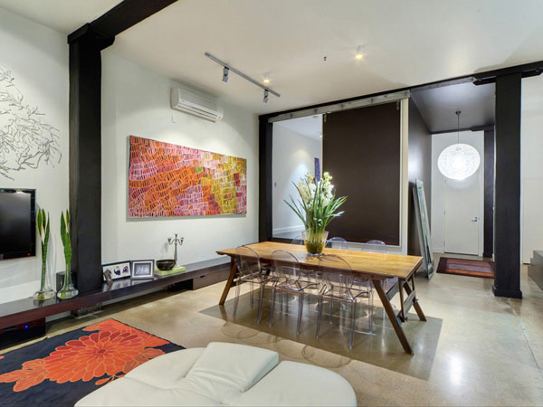 Brisbane House 4 Wool Store Converted Into a Generous Contemporary Loft