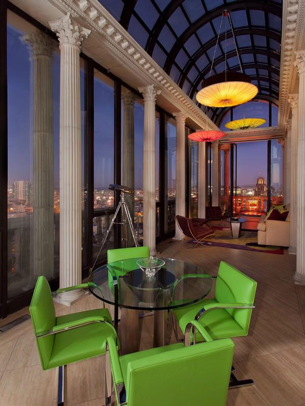 San Francisco Penthouse 02  Striking Art Deco Penthouse With Views of Downtown San Francisco