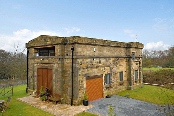 UK Water Pumping Station Converted Into Sophisticated Modern Home