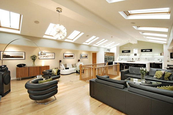 Pump House 01 800x535 UK Water Pumping Station Converted Into Sophisticated Modern Home