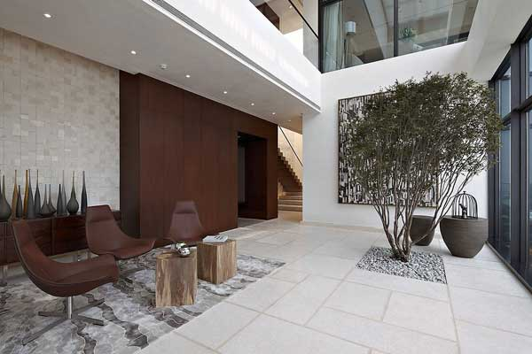 House of the Tree 2 Glazed Double Height Penthouse Overlooking The Urban Jungle