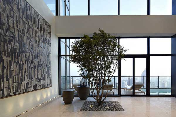 House of the Tree 3 Glazed Double Height Penthouse Overlooking The Urban Jungle