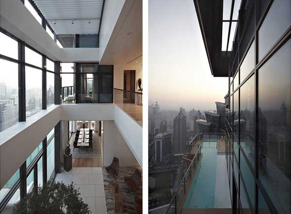 House of the Tree 4 Glazed Double Height Penthouse Overlooking The Urban Jungle