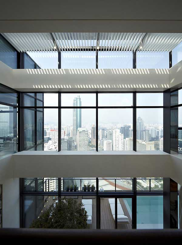 House of the Tree 6 Glazed Double Height Penthouse Overlooking The Urban Jungle