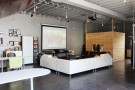 An Old Auto Body Shop Transformed into a Live/Work Space