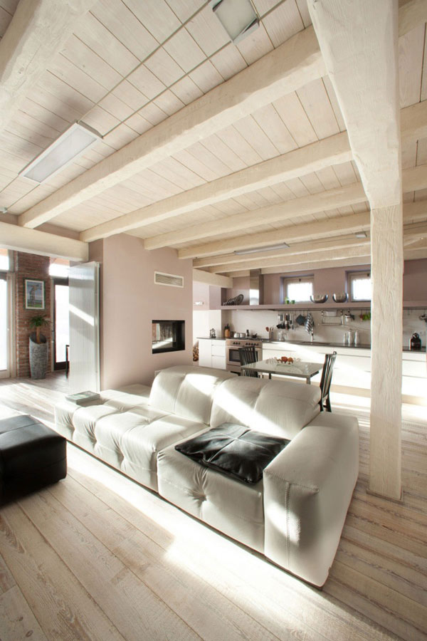 Casa LD by Ego Vitamina Creativa 22 Garage Turned Into An Airy Urban Residence On Two Floors