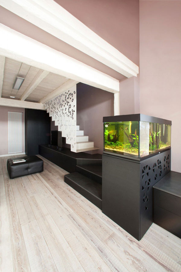 Casa LD by Ego Vitamina Creativa 62 Garage Turned Into An Airy Urban Residence On Two Floors