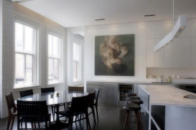 minimalist greenwich village loft 12 660x438 Minimalist Greenwich Village Loft