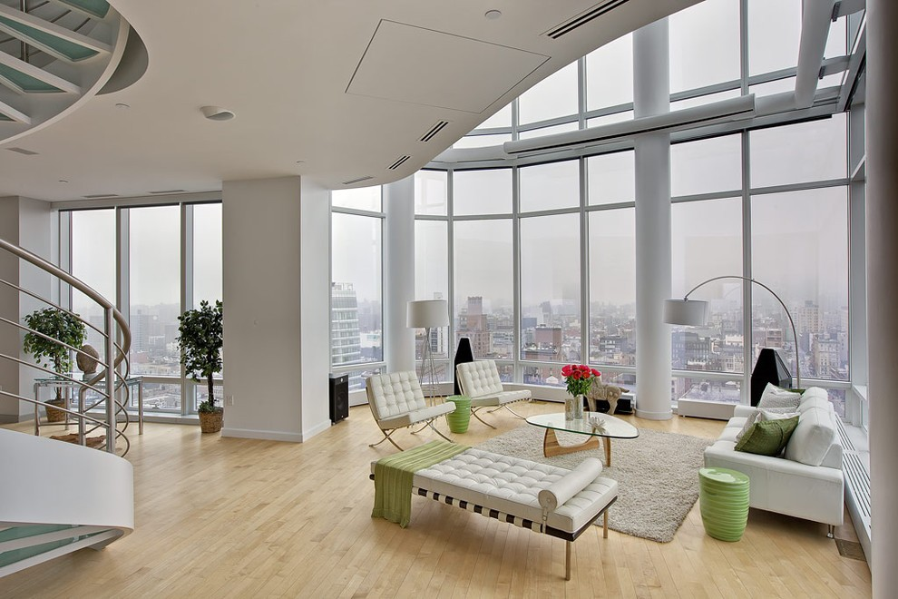 Duplex penthouse manhattan 01 loftenberg for Top arredi floridia
