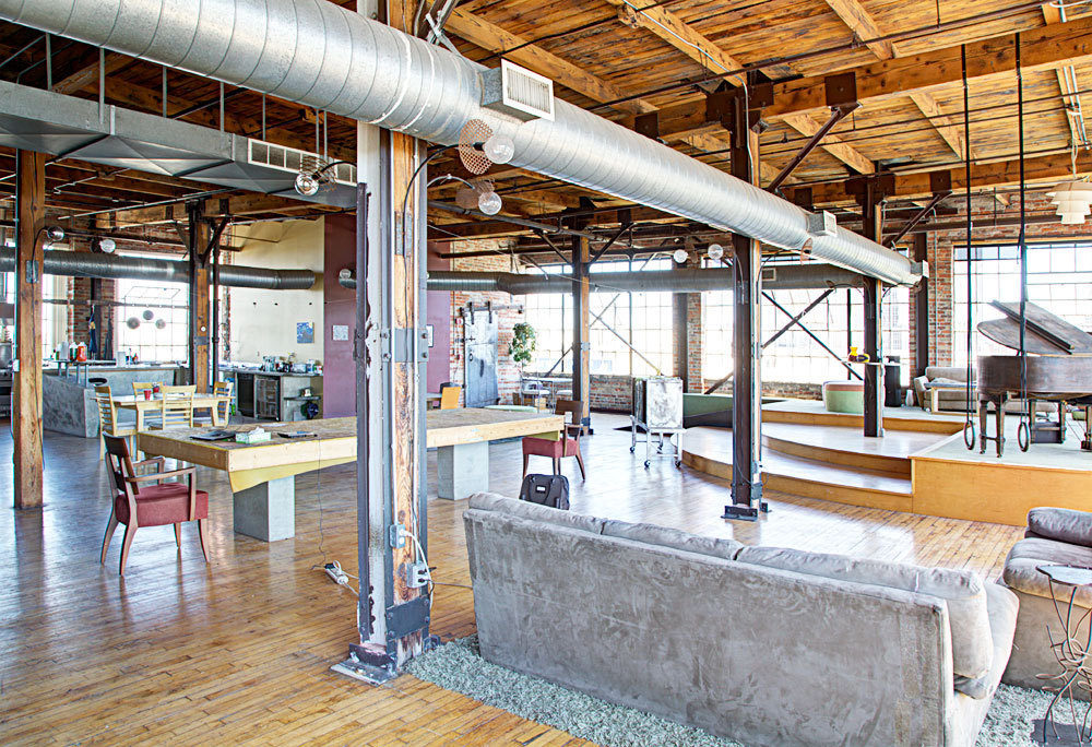 Raw detroit loft loftenberg