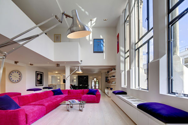 Beautiful Houses: Modern Loft Inside Victorian Westbourne Grove Church