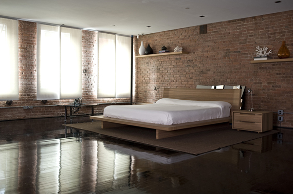 bedroom Living Large in this Loft
