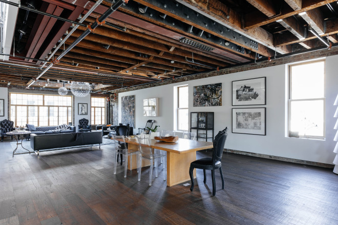 Bleecker Loft - dining room